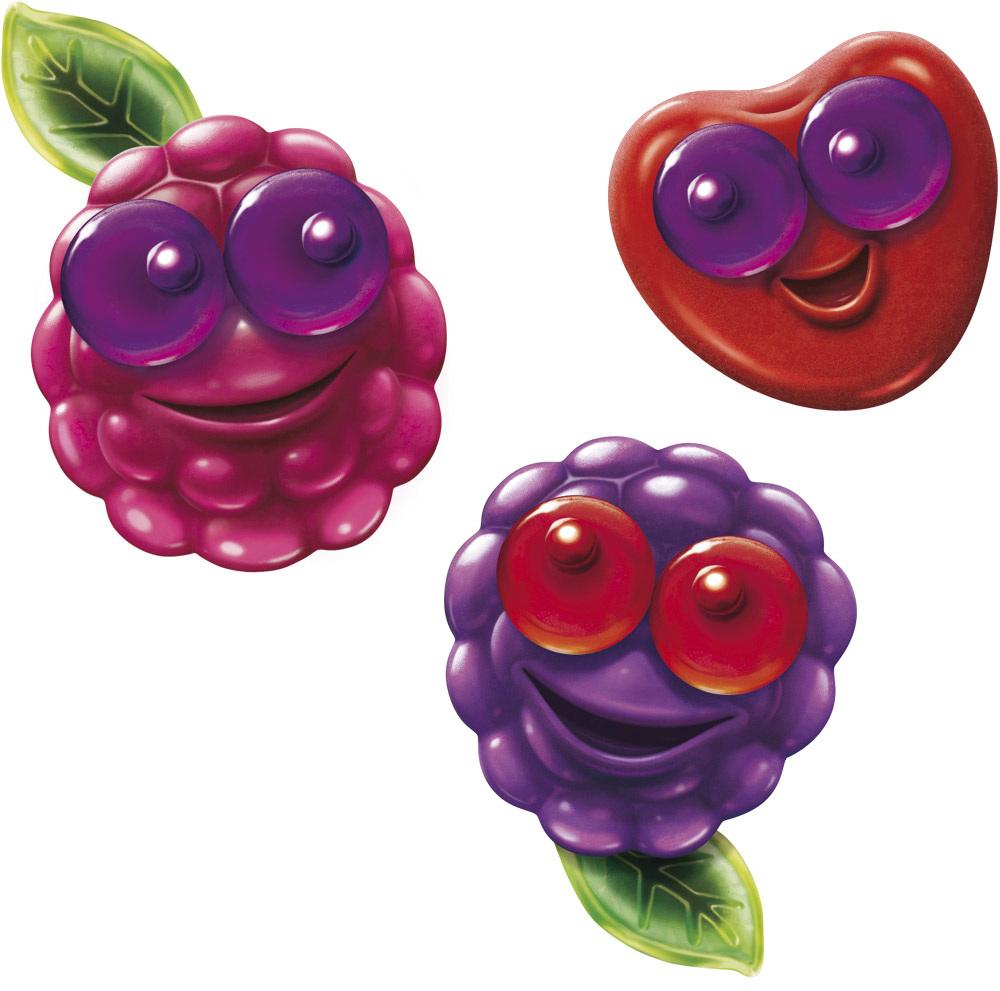 Lachgummi Rote Früchte