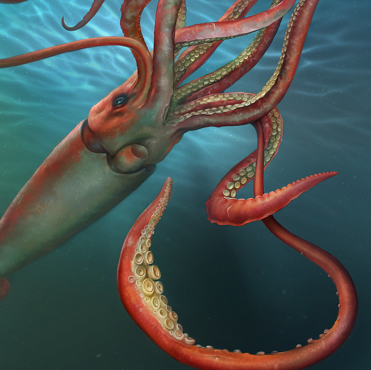 Giant Squid - The Art of Eldar Zakirov