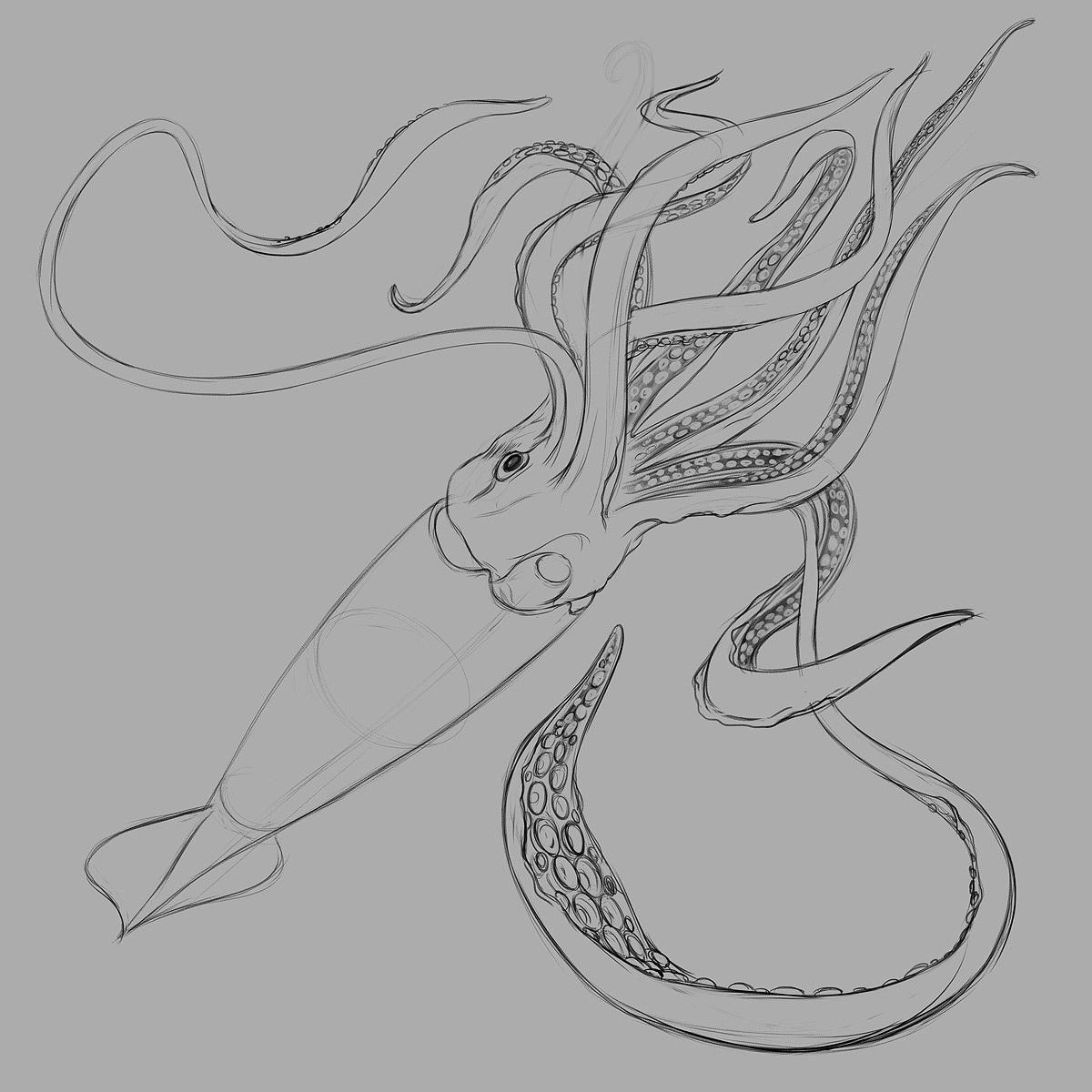 giant squid the art of eldar zakirov