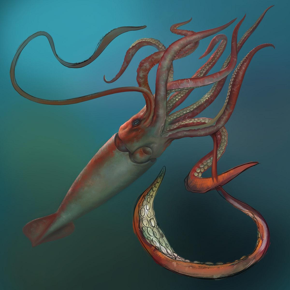 Giant Squid - The Art of Eldar Zakirov